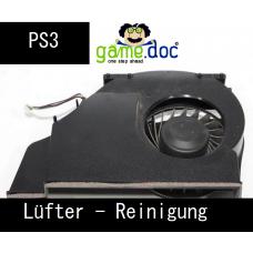 PS3 Lüfter Reinigung