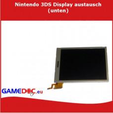 Nintedo 3DS XL Display  austauschen (unten)